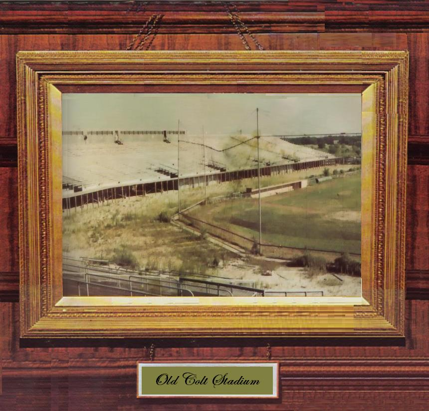 Its lower stands removed, Colt Stadium was allowed to deteriorate before being dismantled and moved to Mexico in 1969