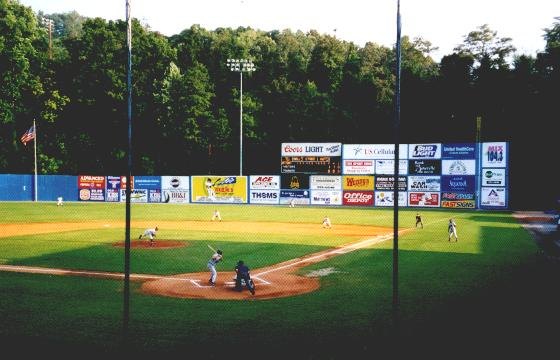 The original McCormick Park, home of the Asheville Tourists and homefield for  an Astros affiliate each year between 1980 and 1993